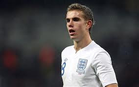 Jordan Henderson on his way to the Euro's