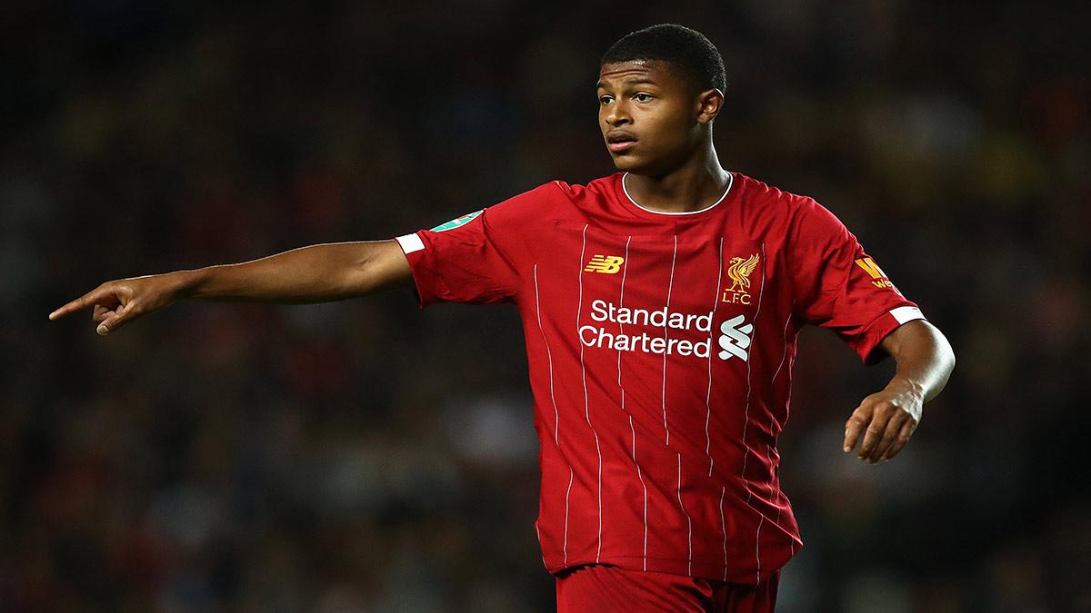 Rhian Brewster Liverpool Forward