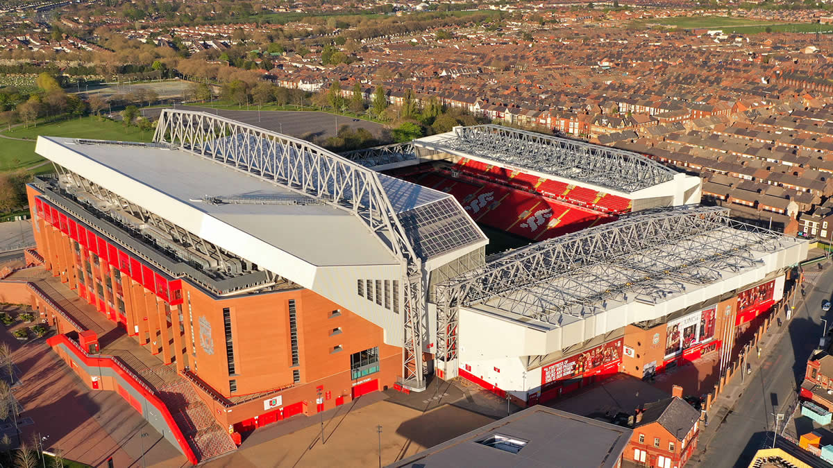 Anfield Aerial View