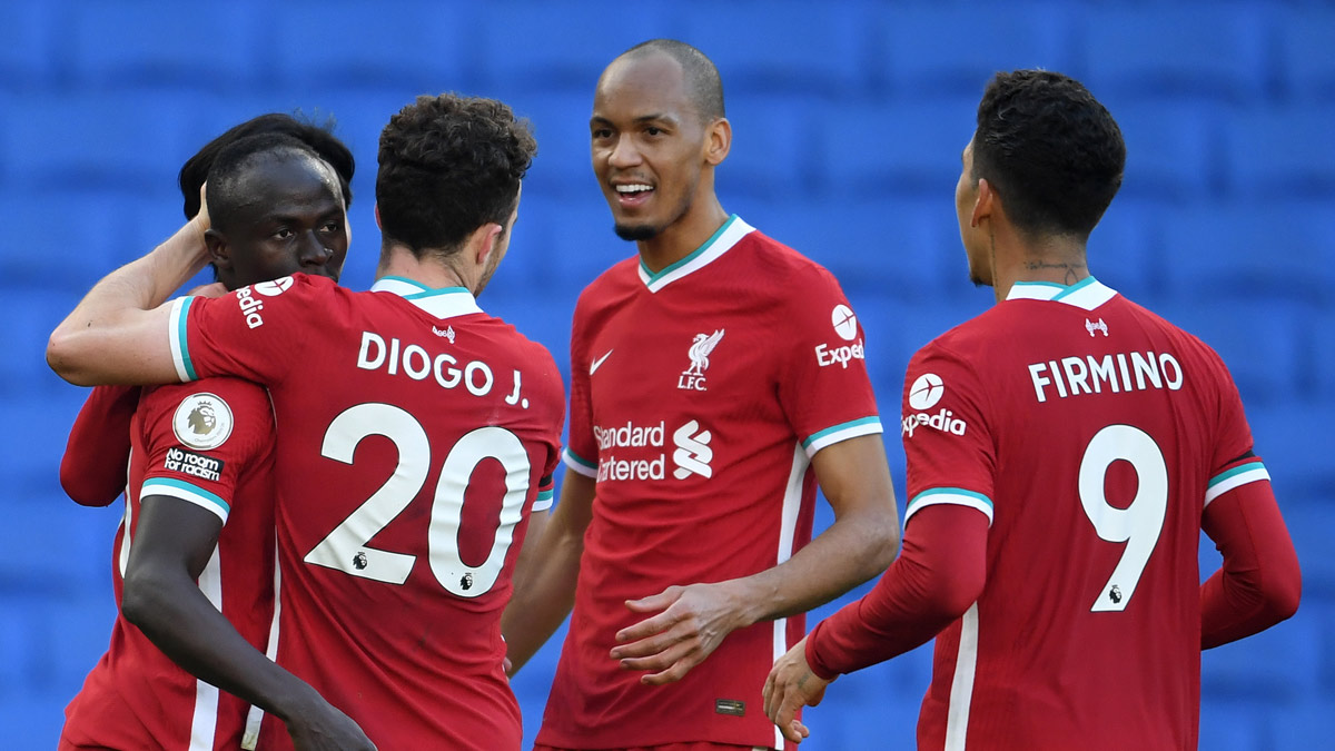 Brighton And Hove Albion v Liverpool Premier League Nov2020