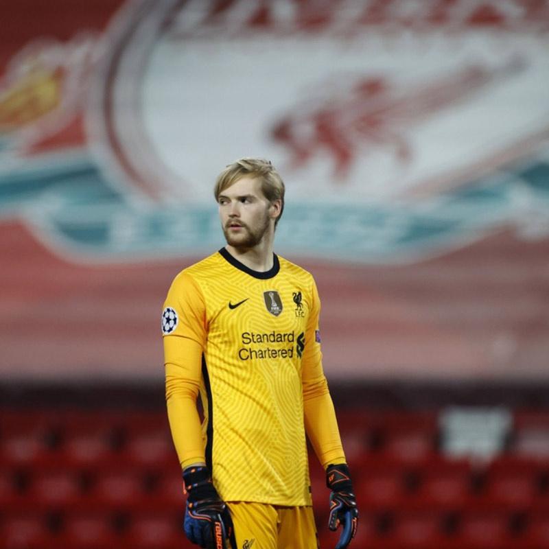 Caoimhin Keller Liverpool Goalkeeper