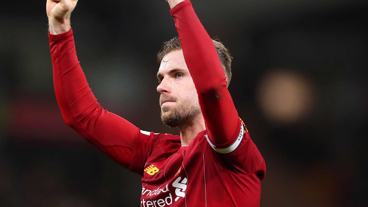 Jordan Henderson Liverpool FC Captain