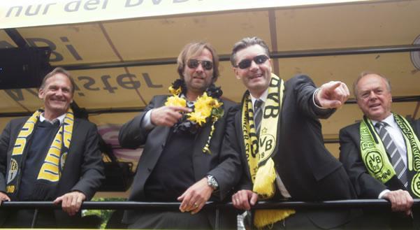 Jurgen Klopp Bundesliga Celebration
