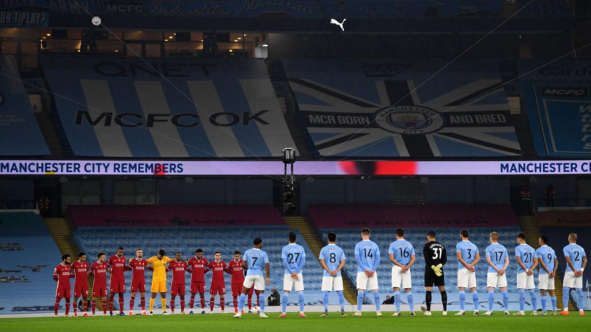 Manchester City v Liverpool Rememberance Sunday 20201108