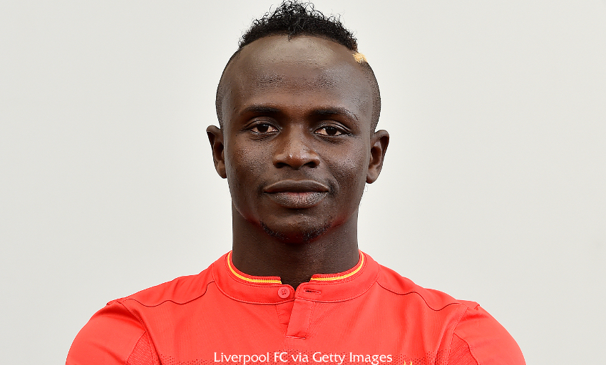 Sado Mane Forward Liverpool FC